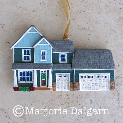 Custom House Ornament by ThreeMoonBabies