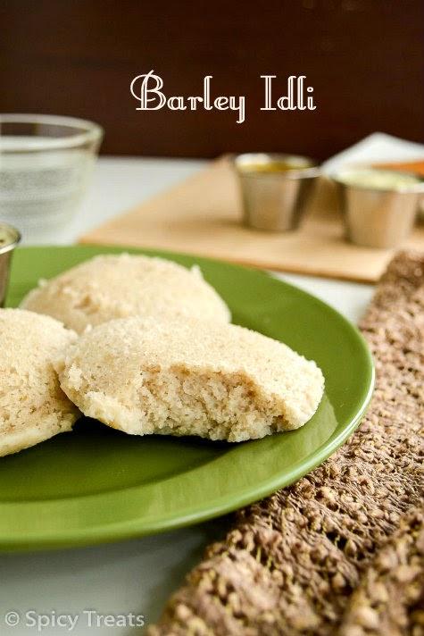 Barley Idli Recipe