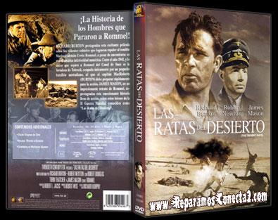 Las Ratas del Desierto [1954] Descarga cine clasico, caratula