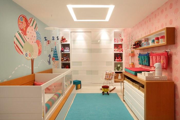 decoracao quarto bebe pequenos ambientes : decoracao quarto bebe pequenos ambientes:Bricolage e Decoração: Quartos Mistos para dividir Menina com Menino