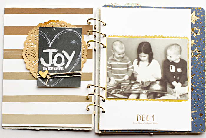 December Daily Memories mini album | Day One