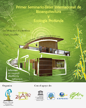 CAPACITACIONES ZUARQ. CONSTRUCCIONES CON GUADUA 2011