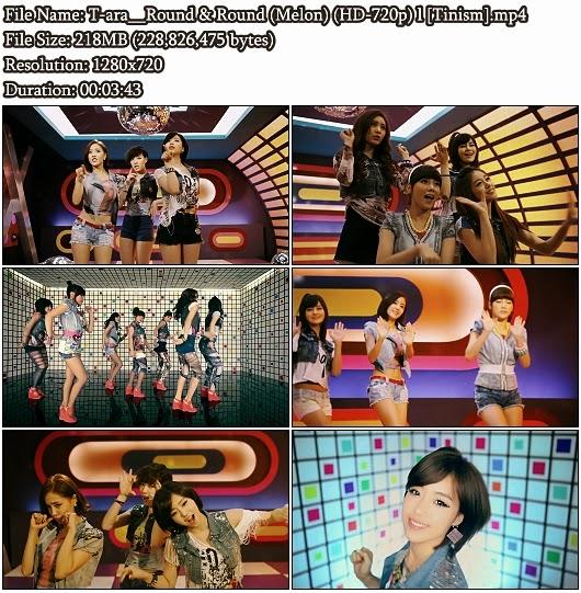Download MV T-ara (티아라) – Round & Round (빙글빙글) (Melon HD 720p)