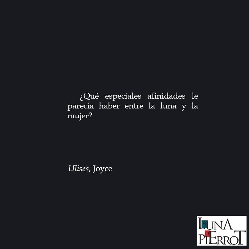 La Luna de Pierrot VilaMatas Joyce Poe Cohen Frases 1