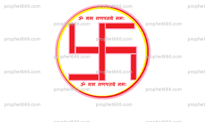 The Swastika is an ancient Hindu religious symbol