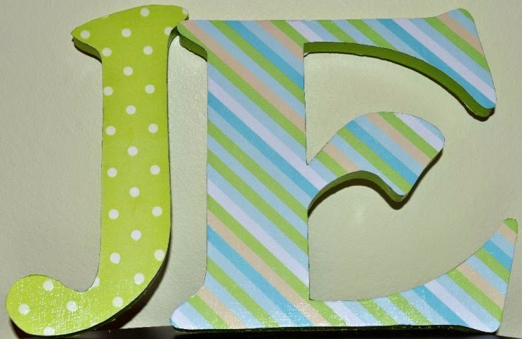 diy painted wall letters