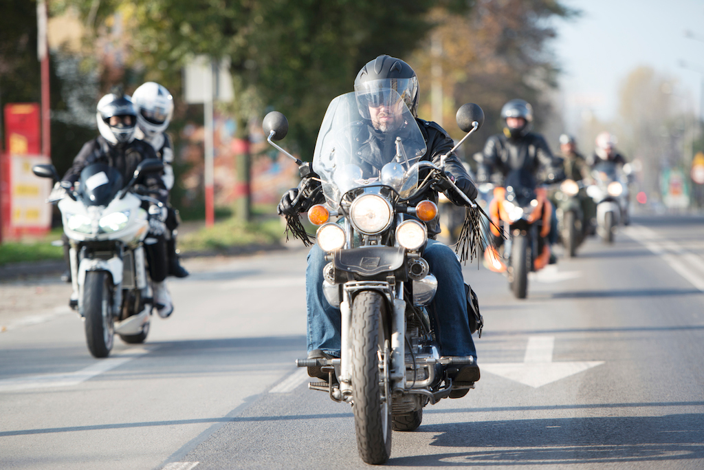 Parada motocyklowa The Art of Ride 2014. fot. Agnieszka Kolon
