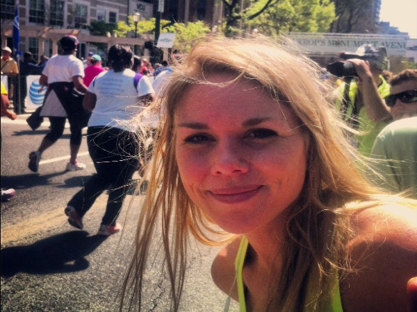 Monument Avenue 10k, Ukrops10K, heart shaped sweat