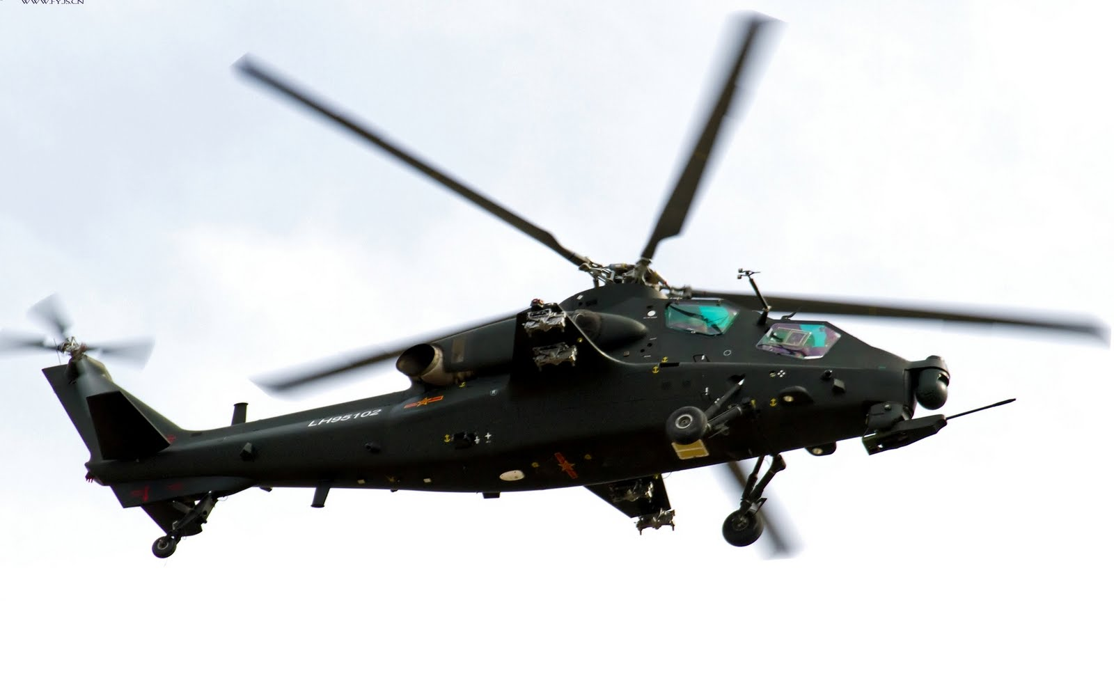 Chinese Z-10 Gunship Helicopter | Global Military Review