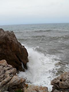 Llanes coastline in Asturias, Northern Spain