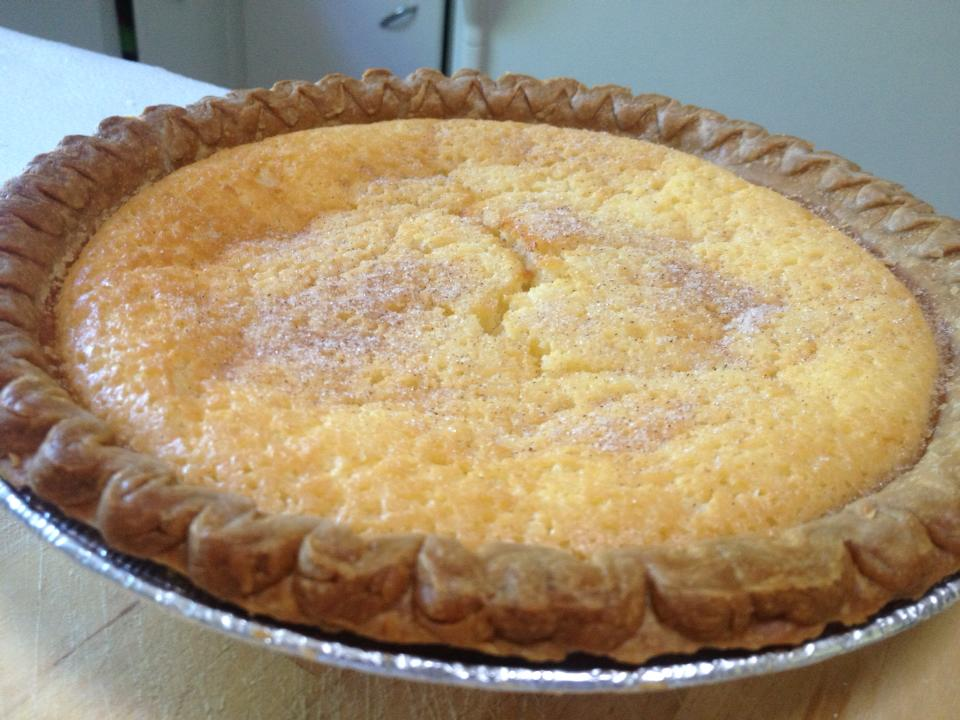 SWEET SOUTHERN BUTTERMILK PIE | Mamelah's Marvelous Desserts
