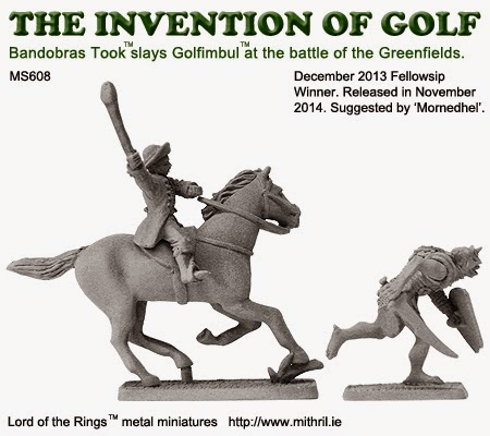 The invention of golf - Bandobras Took