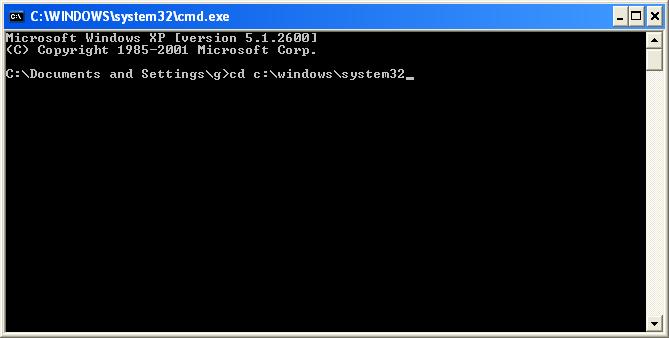 Comment savoir si votre pc est infect par un virus for Ouvrir une fenetre ms dos