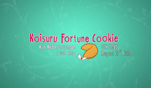 NEW Single] JKT48 - Koisuru Fortune Cookie (Fortune Cookie Yang ...