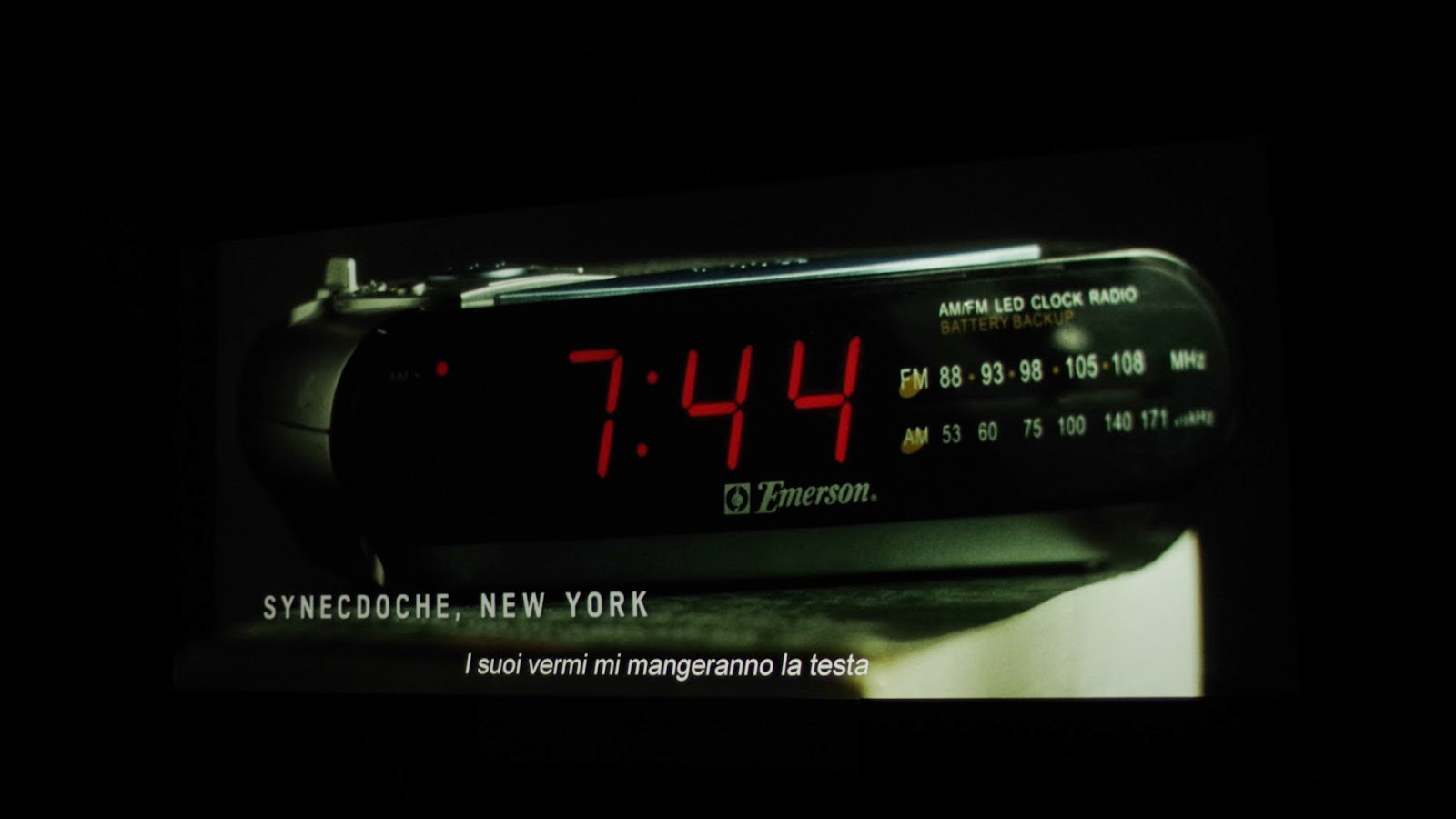 screenshot synnecdoche, new york ONIRONAUTAIDIOSINCRATICO