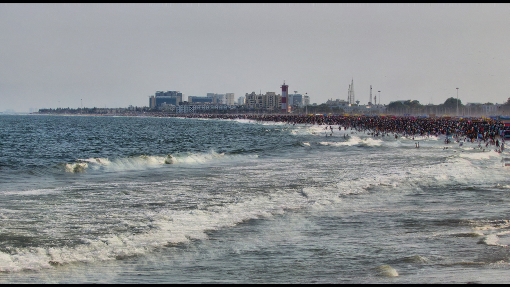 essay on triplicane marina beach