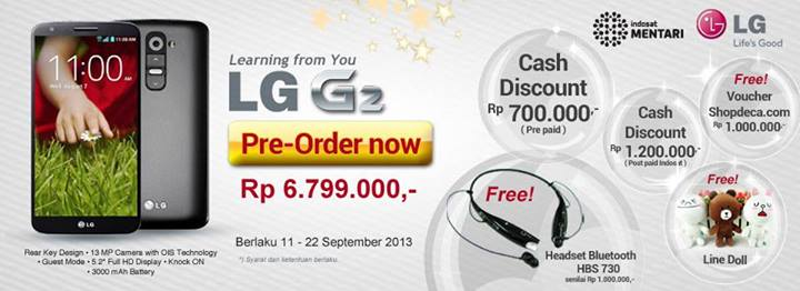 LG G2 Android Quad Core 226 GHz Harga Rp 5 Jutaan