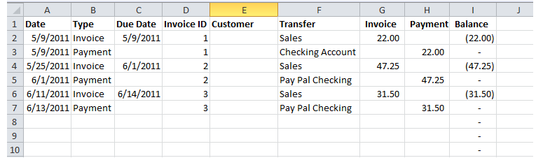 Stitch Silly: Create Your Own Accounting System Series - Accounts ...