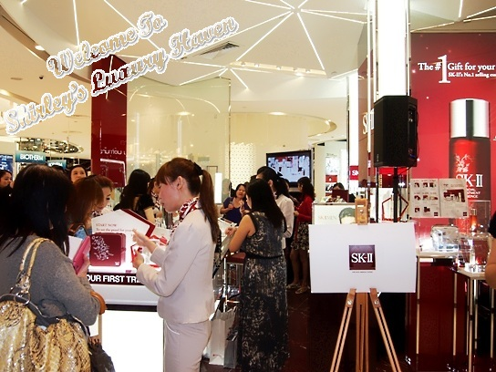sk-ii tangs boutique bloggers event