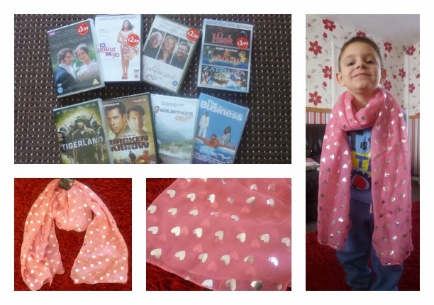 Yorkshire Blog, Mummy Blogging, Parent Blog, Special Buys, Aldi, Review, DVD, Scarf,