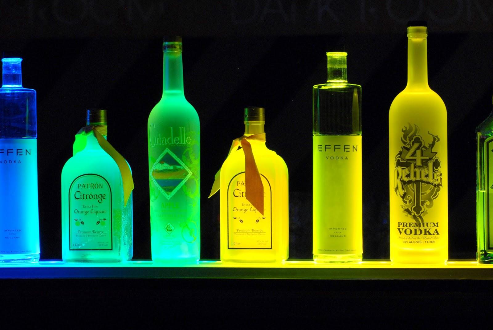 Lighted Liquor Bottles Design Ideas For You Home Decor