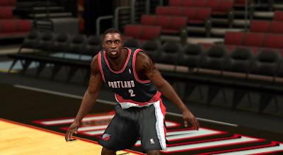 NBA 2K14 Wesley Matthews Cyberface Patch