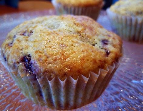 Muffins con cerezas