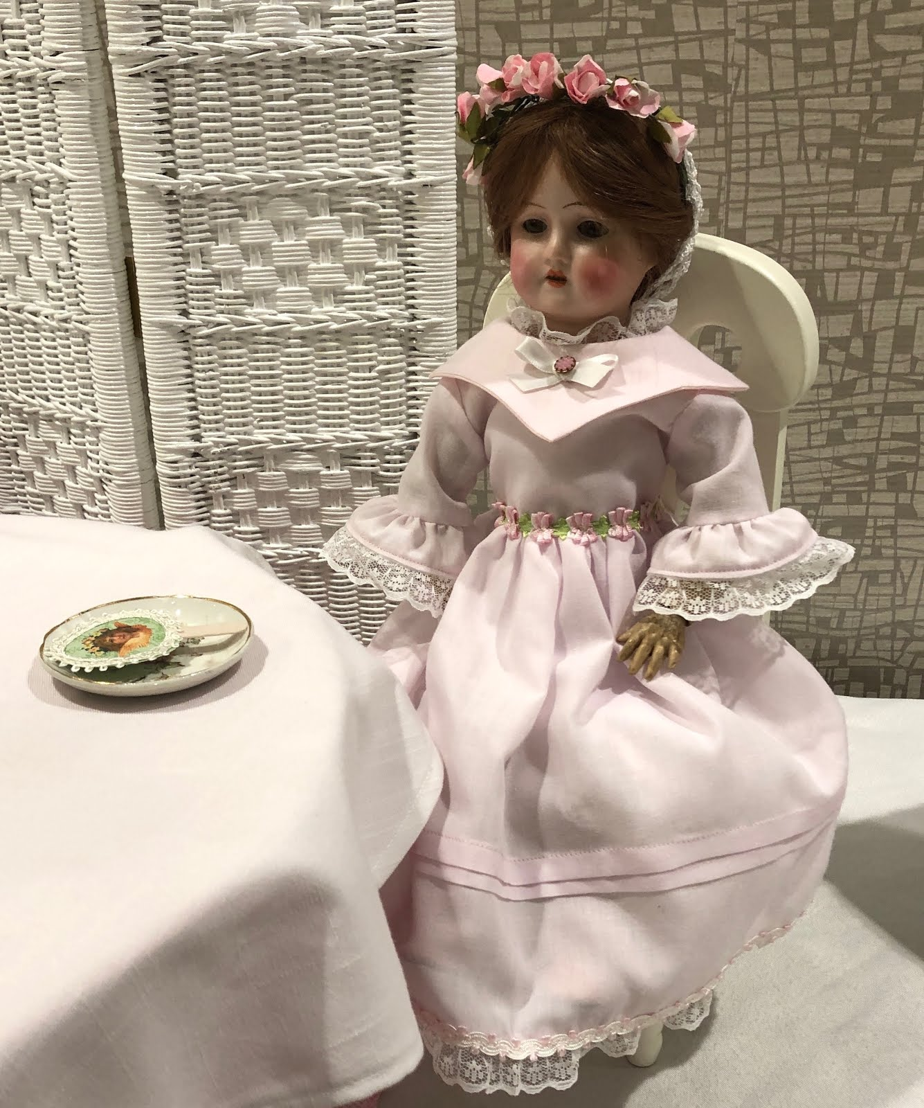 Miss Lily at the Doll Wedding Reception