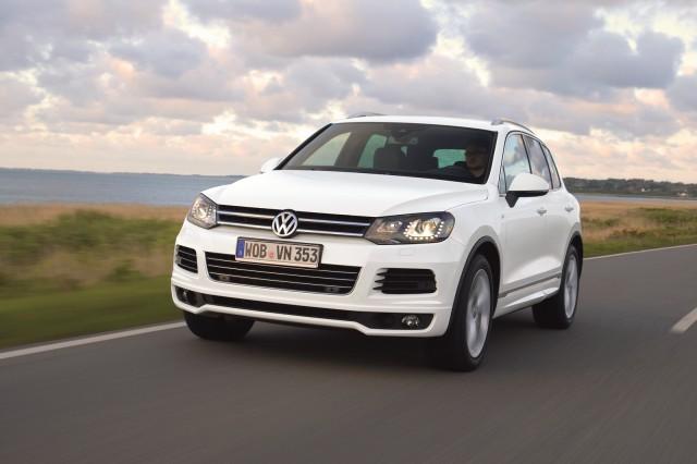 novo  Volkswagen Touareg 2014 dianteira