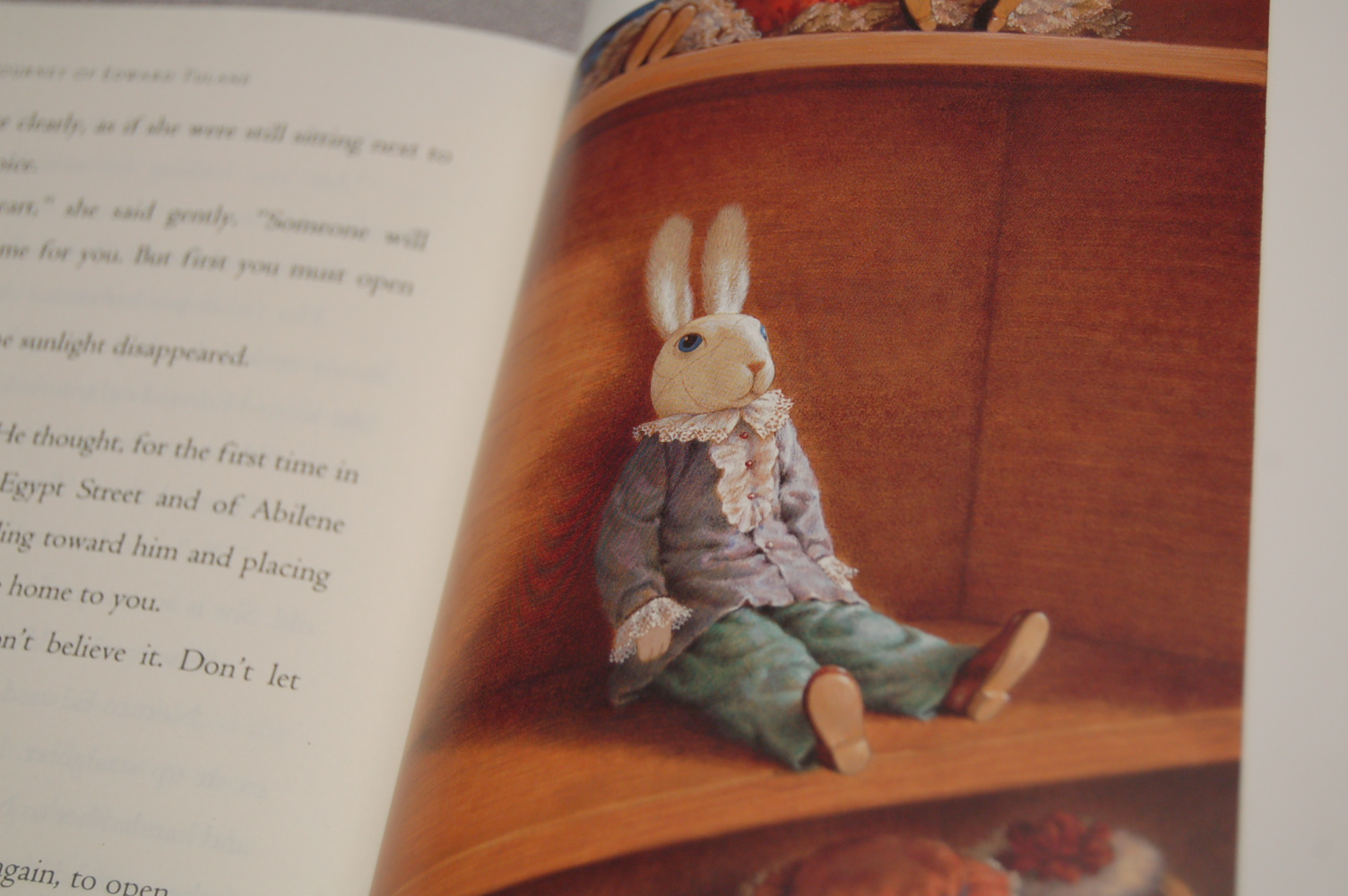 The miraculous journey of edward tulane book report