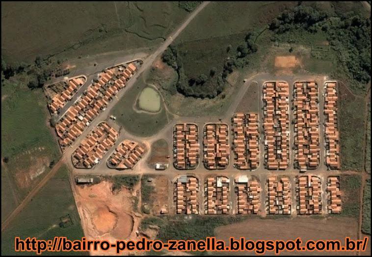 Imagem de satelite do Residencial Pedro Zanella