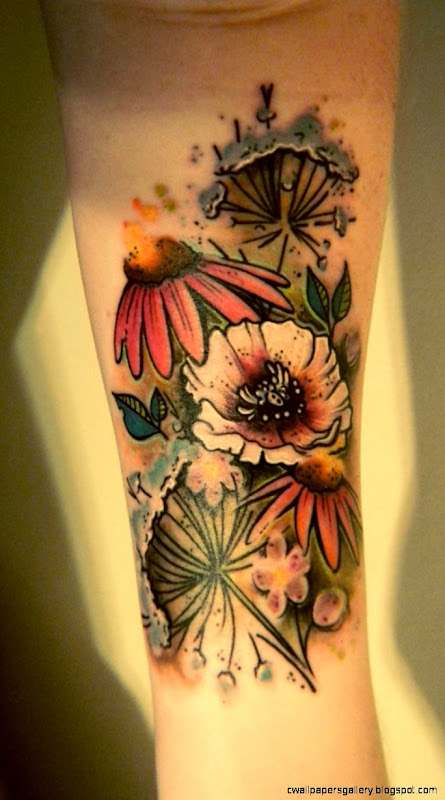 1000 images about wildflower tattoo on Pinterest