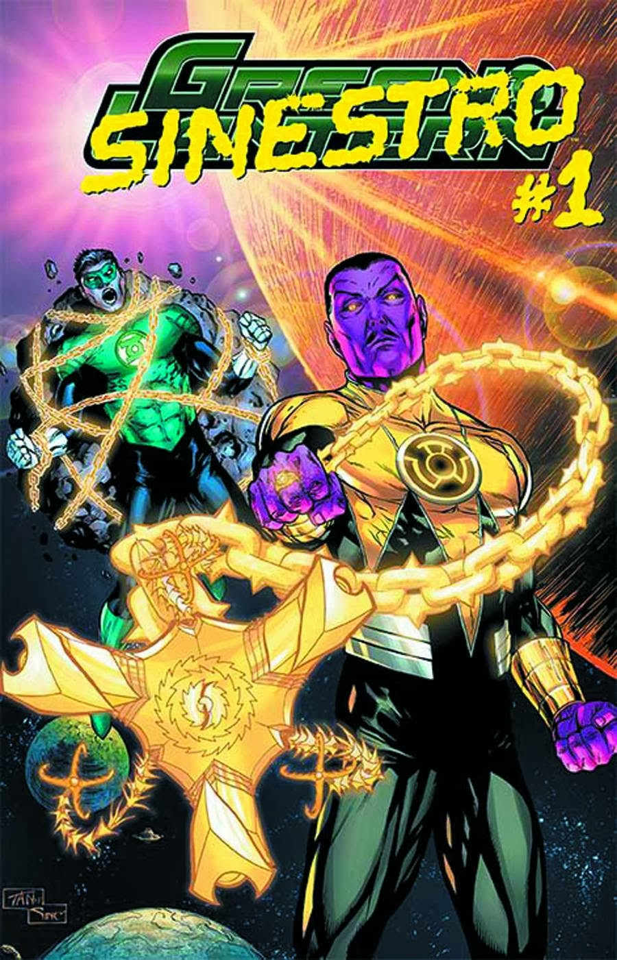 Sinestro's origin takes the stage in the final Green Lantern Villains Month comic.