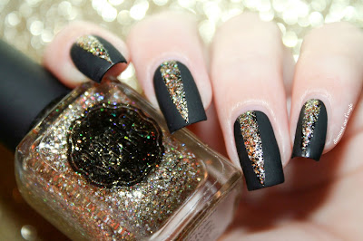 Nail Art for the New Year's Eve 2015