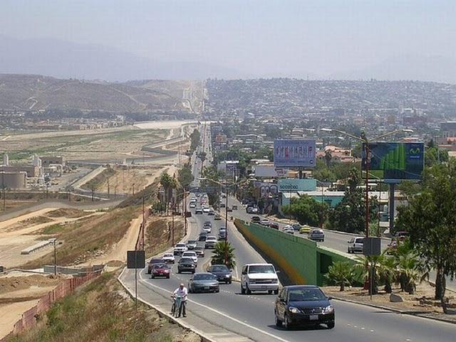 Pix Grove US Mexico Border - Us mexico border map with length