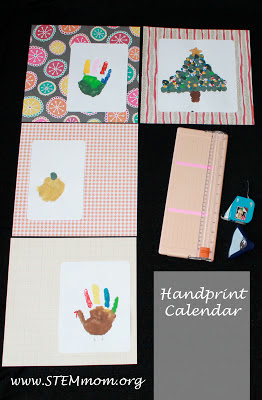 Handprint Calendar: STEMmom.org
