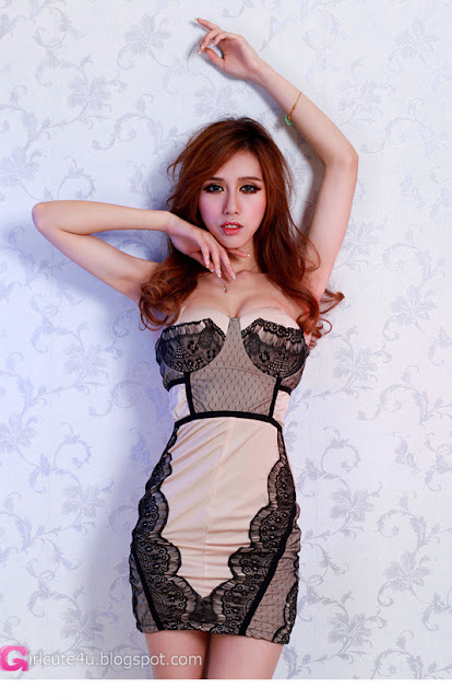 3 Lace combined-Very cute asian girl - girlcute4u.blogspot.com
