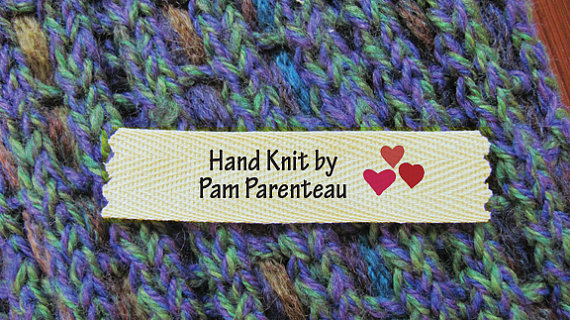 Knitting Labels Custom : Knitting with sandra singh i quot heart you
