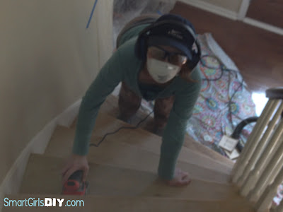 DIY how to do it yourself stair renovation