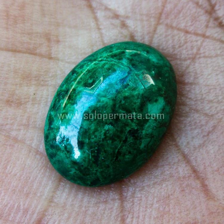 Batu Permata Bacan Chrysocolla Peru - SP538