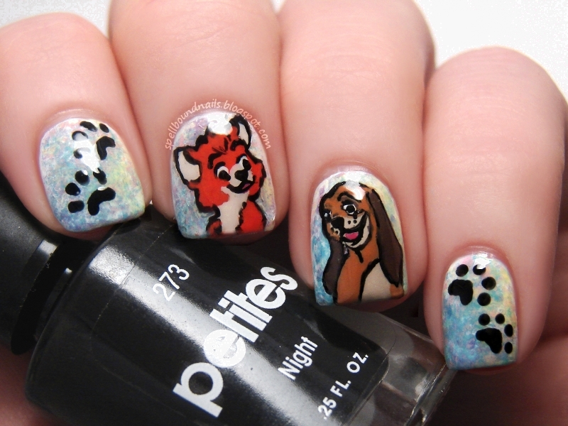Character Design Nails : Spellbound nails
