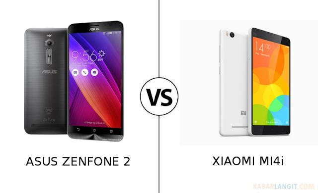 Perbedaan Kualitas Zenfone 2 vs Xiaomi Mi4i