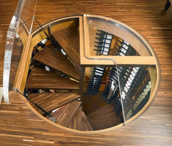 And there are several ways to incorporate a wine cellar to your house. - This Guy Put A Secret Window On His Kitchen Floor, For A Brilliant Reason!