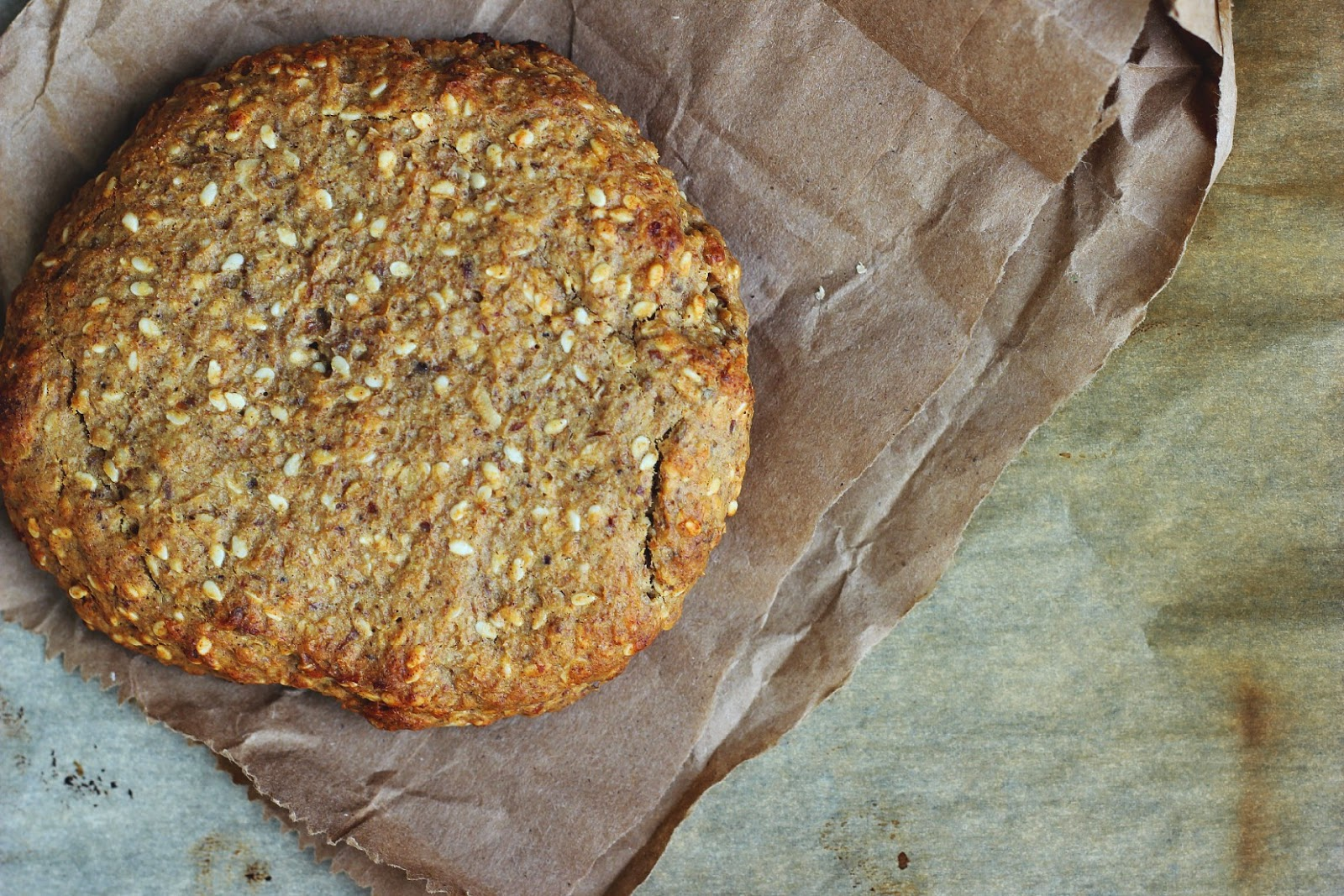 Soft Baked Sesame + Peanut Butter Breakfast Cookies ⎮ happy hearted kitchen