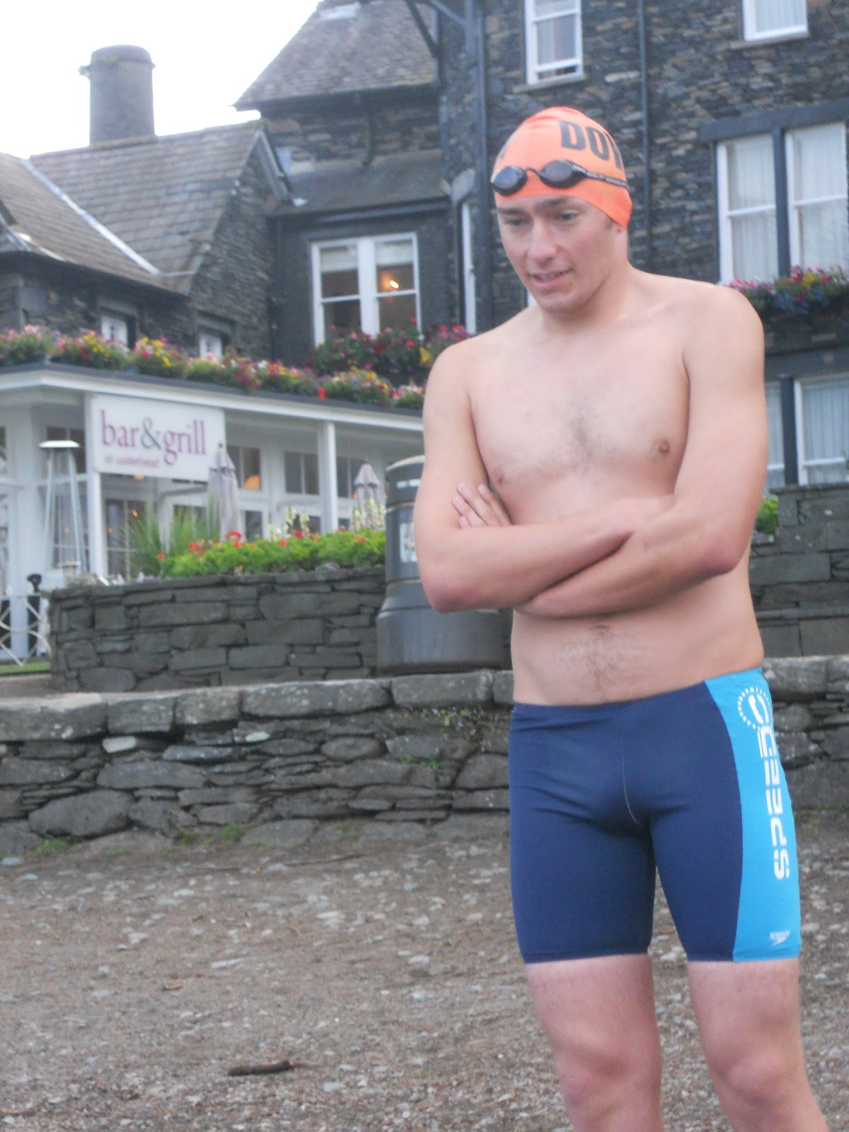 Solo Channel Swim 2012 For Cancer Research Uk
