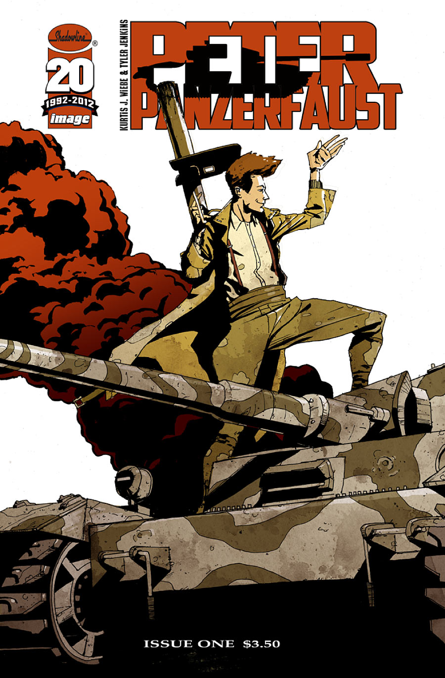 SDCC 2012: Kurtis Wiebe Signs Deal for possible Peter Panzerfaust TV Series