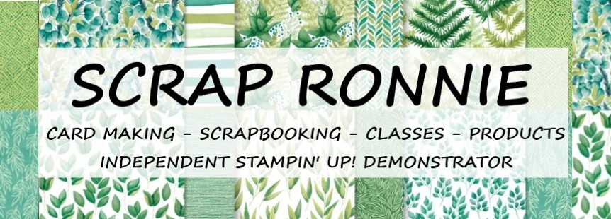 Scrap and Stamp with Ronnie