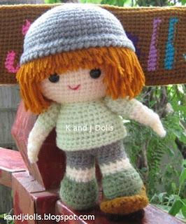 Amigurumi Blog Deutsch : Amigurumi Hakelanleitungen von K and J Dolls: Deutsche ...