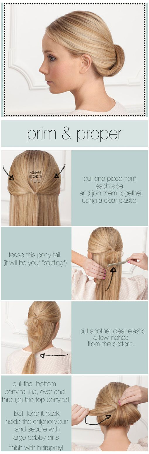 Hairstyles How To Do : This is how we rolll: How-to hairstyles! Are you ready for new years ...
