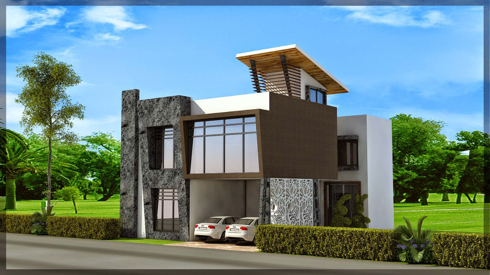 Ghar planner leading house plan and house design for Independent house designs in india